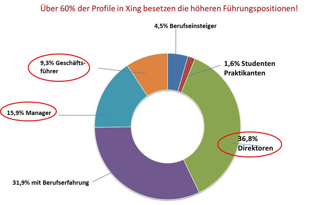 Führungspositionen Xing